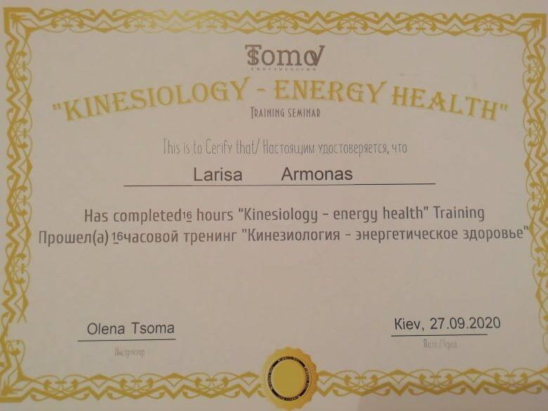 kinesiology-energy-health-larisa-armonas
